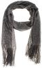 Schijvens mode Lurex sjaal