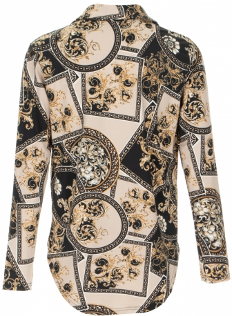 From Paris With Love blouse met print