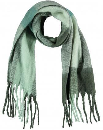 Geblokte zachte sjaal