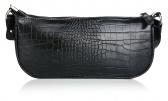 Schijvens mode baguette bag met print